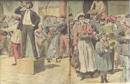 Grèves des boulangers de 1906.