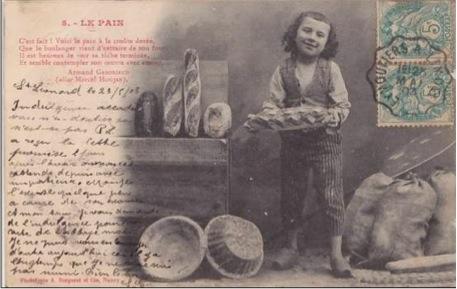 Le pain par Gaboriaud et Bergeret.