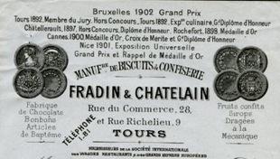 Biscuits et confiserie Fradin et Chatelain