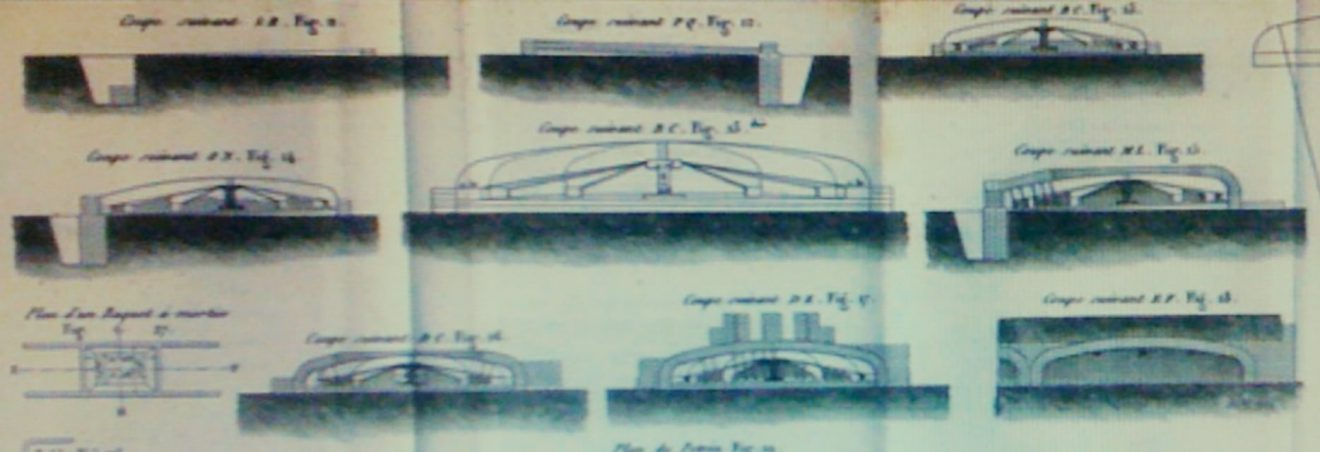 Mémoire sur la construction des fours de campagne, 1822.