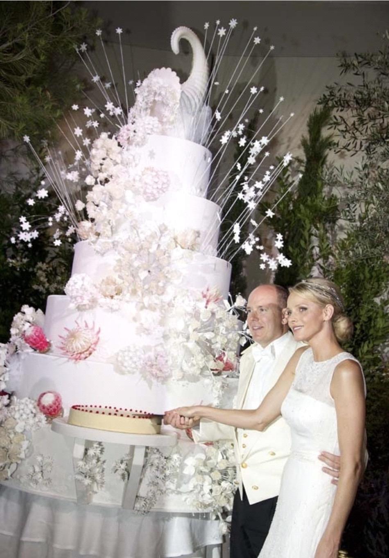 Gâteaux de mariage de la Principauté de Monaco