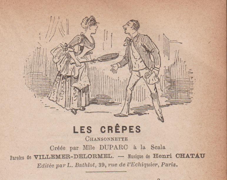 CHANSON « LES CREPES »