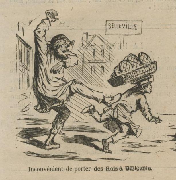 Porter les rois à Belleville en 1872