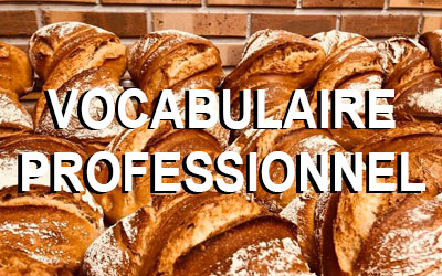Vocabulaire professionnels